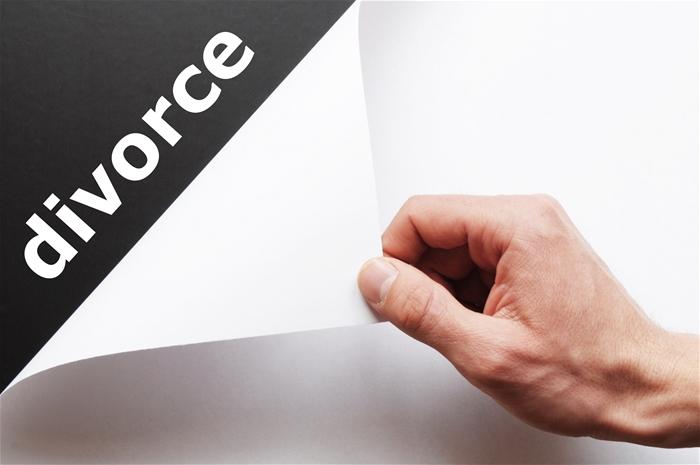 divorce title